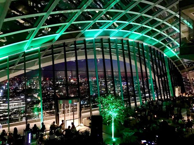 The Sky Garden in London