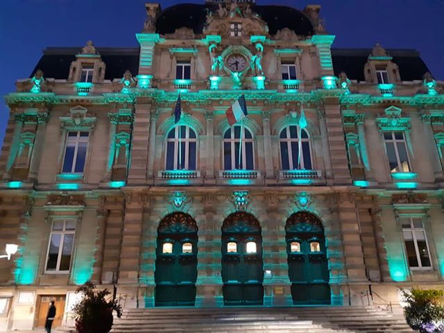 Tourcoing Town Hall. France
