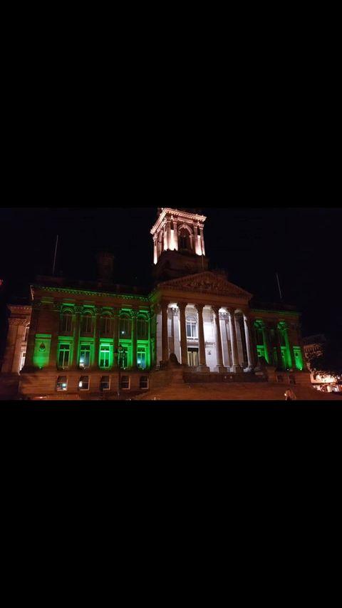Bolton Town Hall, Albert Halls, UK