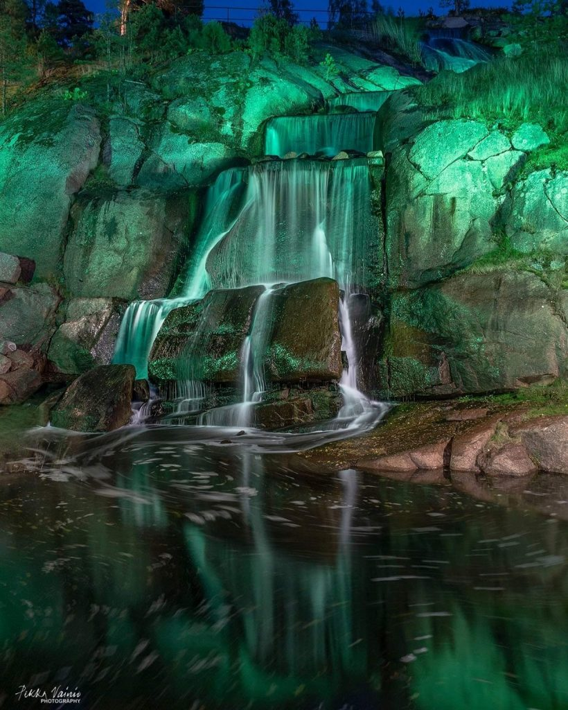 Sapokan vesipuisto, Kotka, ©️Pekka Vainio