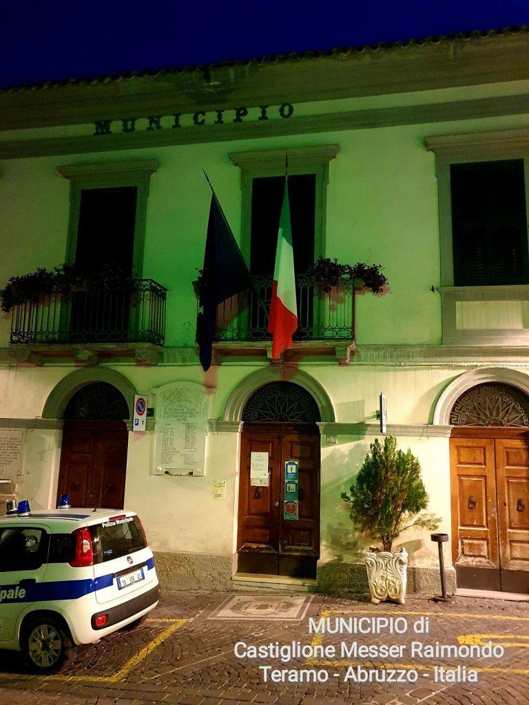 Town Hall, Castiglione Messer Raimondo (Teramo), Italy