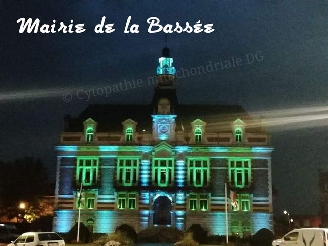 Town hall of La Bassée, France